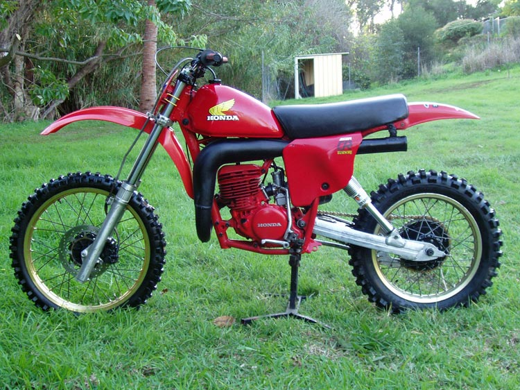 The Honda Elsinore Site Bike Of The Month August 2004