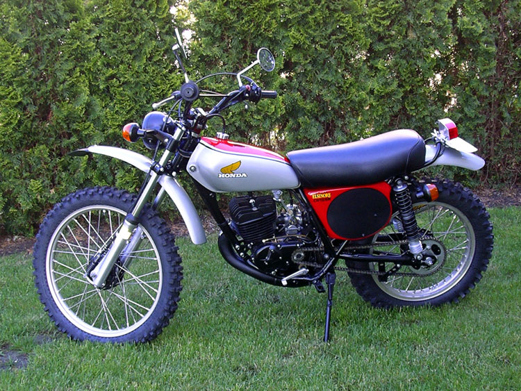 the honda elsinore site - bike of the month