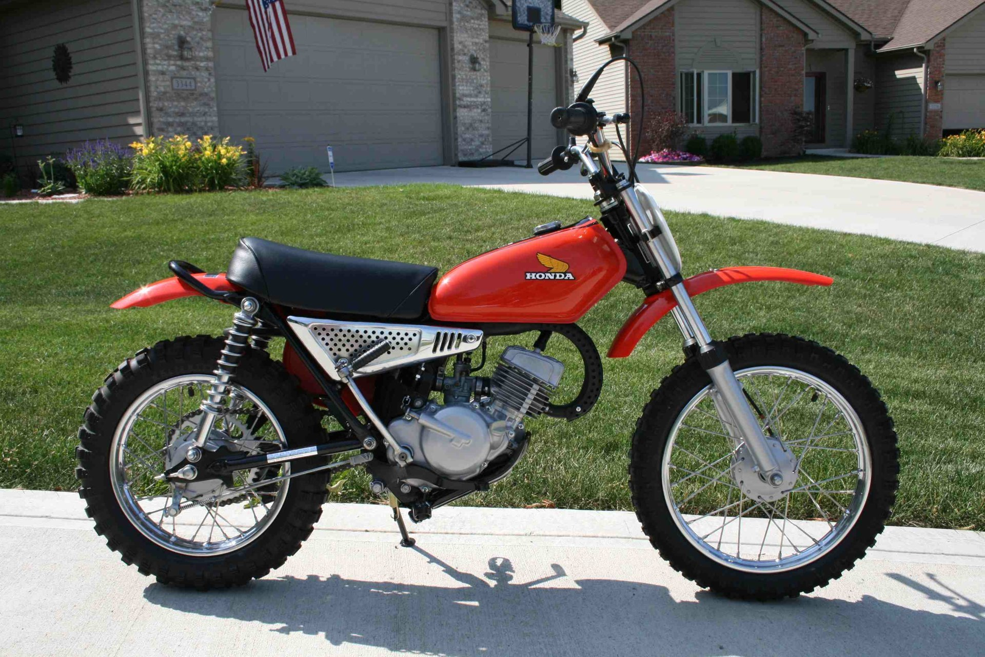 THE Honda Elsinore Site Bike The Month August 2008